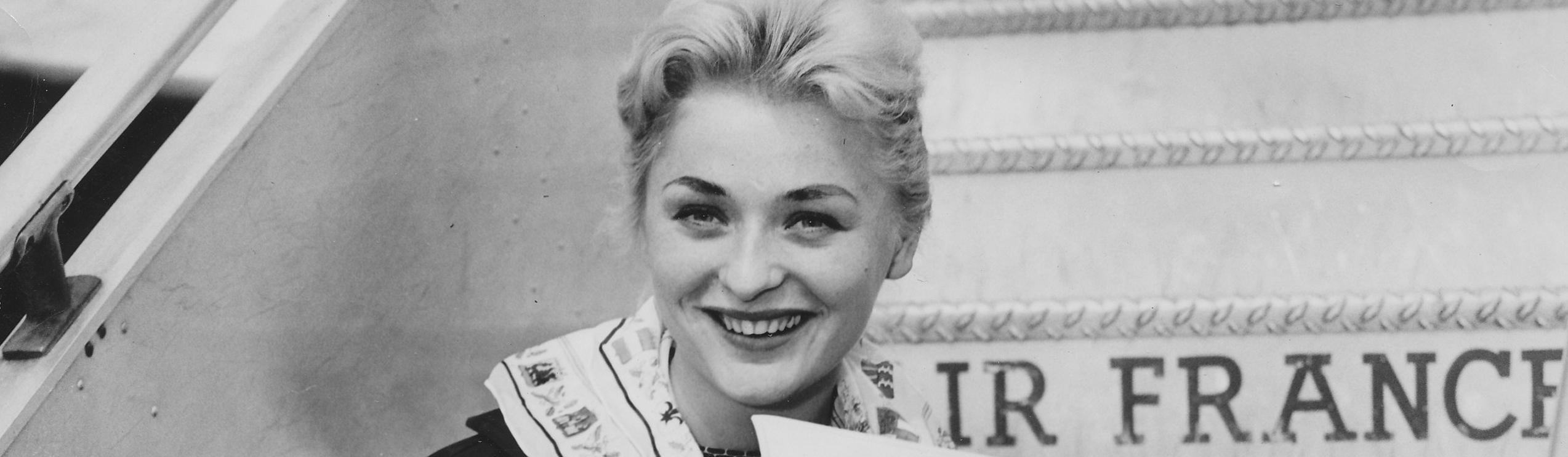 Alicja Bobrowska - pierwsza powojenna Miss Polonia | Dorota Salus